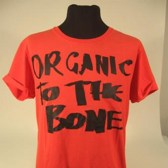 Kuyichi T-Shirt TIGER S | orange